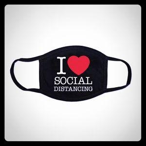 I love social distancing face mask